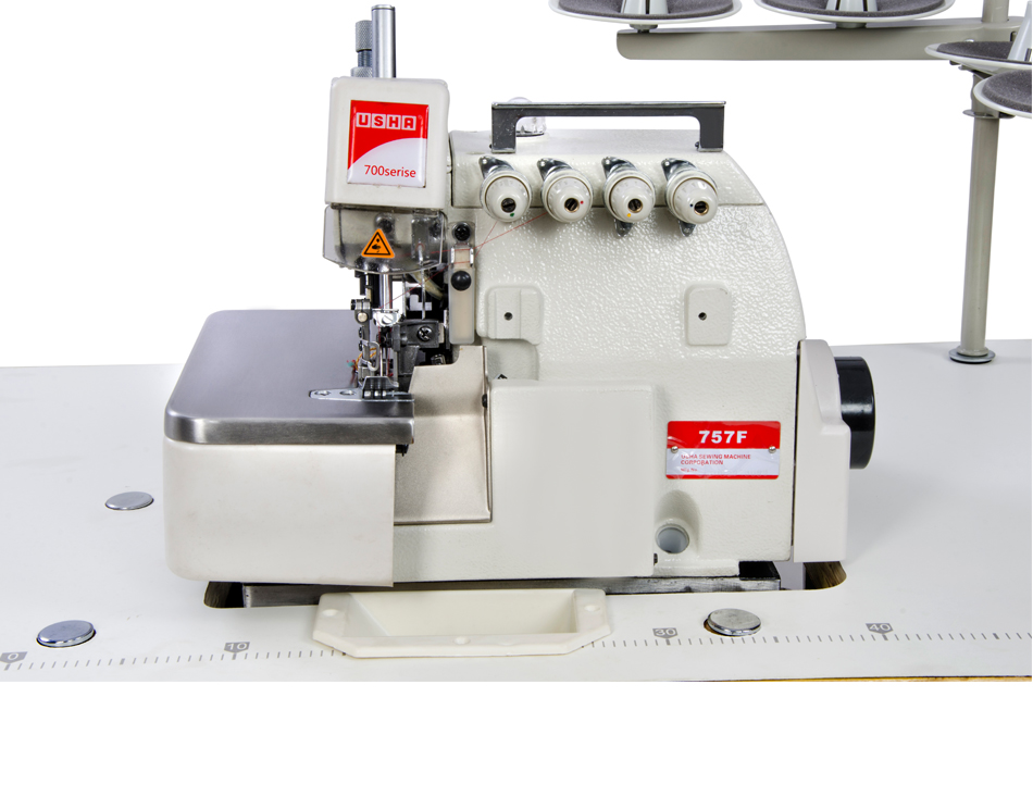 757F Two Needle Five Thread Overlock Machine