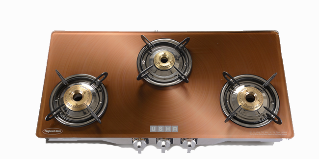 Insignia Cinnamon Copper 3 Burner