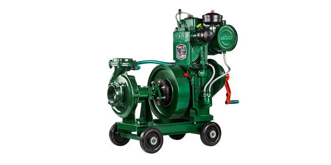 Standard Water Cooled Non self priming Pumpset