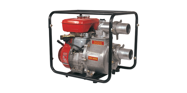 Petrol Start Kerosene Run Self Priming Pumpset