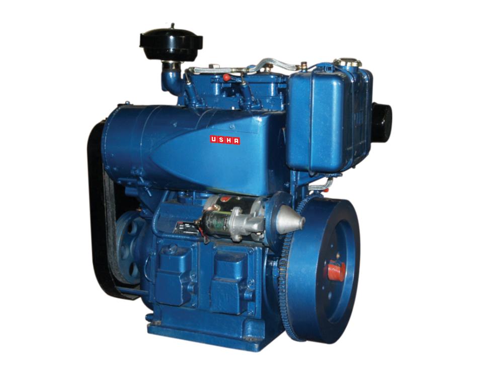 Twin Cylinder Vertical Diesel Engine