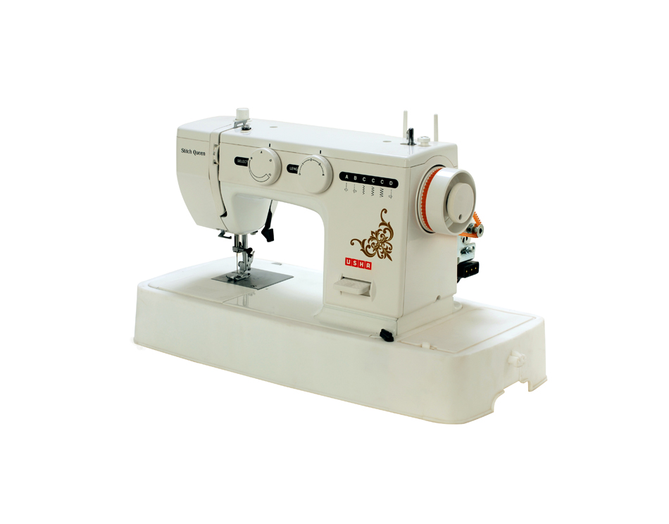 Stitch queen flatbed zig zag sewing machine usha janome