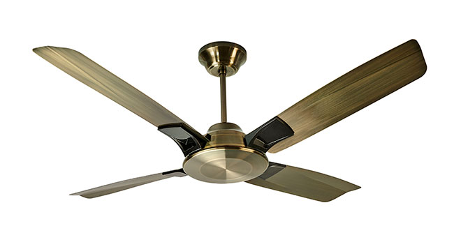 Aldora Premium Ceiling Fan - Antique Copper