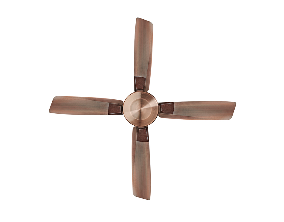 Aldora Premium Ceiling Fan - Antique Brass