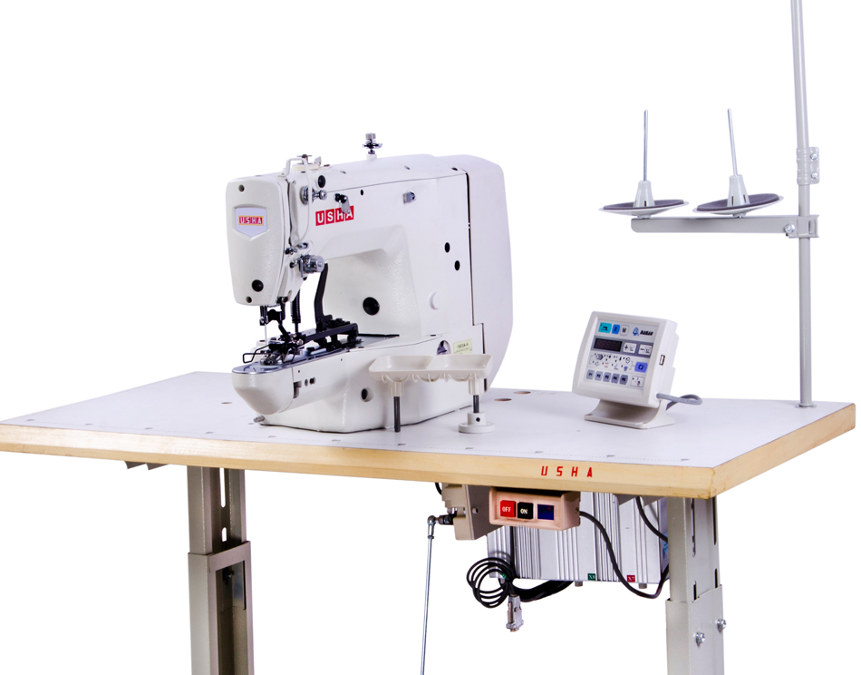 Buy Usha 40T K Electronic Button Attaching Machine Online At Best Adorable Button Sewing Machine Price