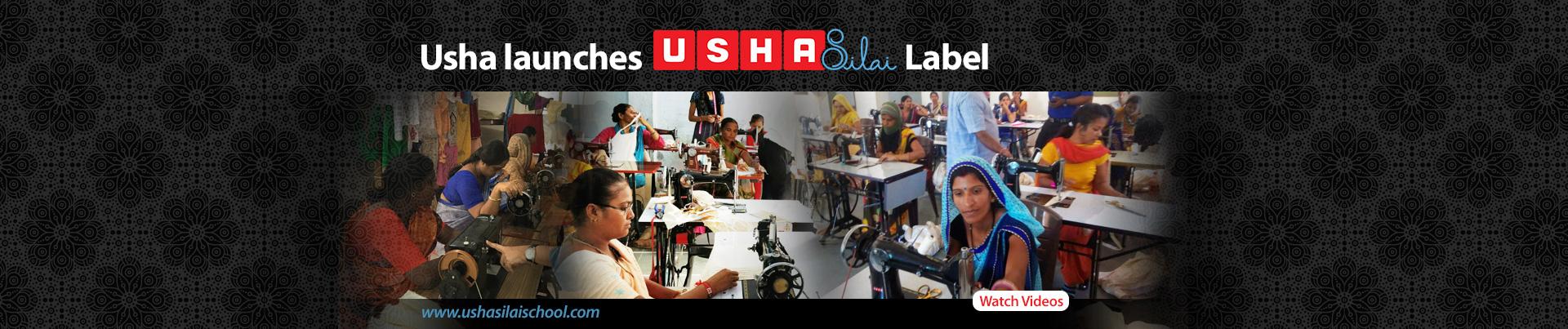 Usha Silai Label